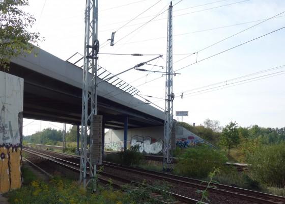 Die alte Brücke über den DB-Außenring