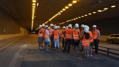 Die Anwohner in Schnelsen erhalten Einblicke in den Tunnel
