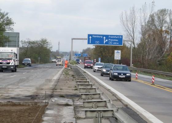 Die Arbeiten an der Brücke beginnen