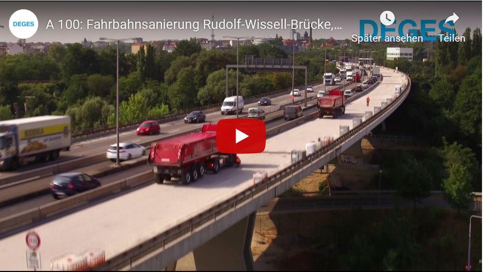 Videoaufnahmen der RWB mithilfe einer Drohne