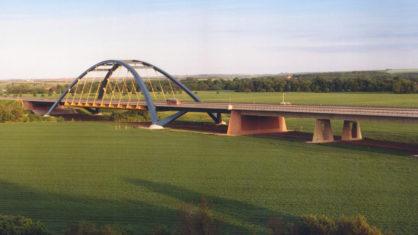 A 14 Saalebrücke Beesedau