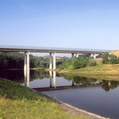 A 17 Talbrücke Gebergrund