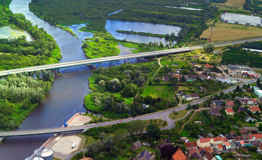 A 20 Peenebrücke bei Jarmen | Bildnachweis: René Legrand