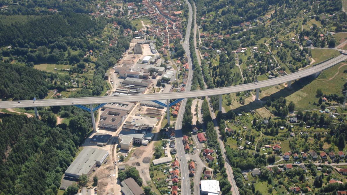 A 71 Talbrücke Haseltal ©ari
