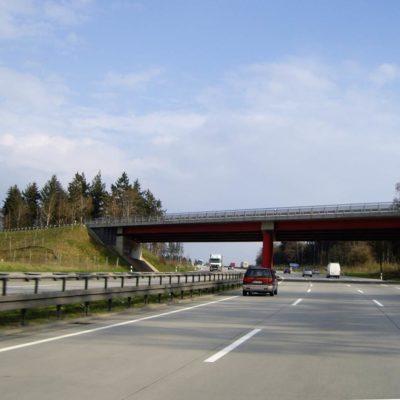 A 9 Strecke Richtung Schleiz