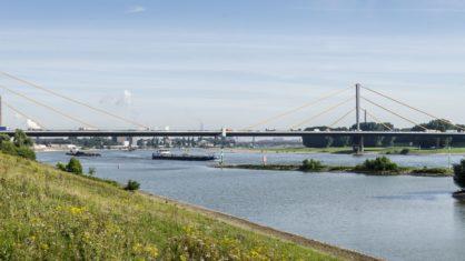 Die Rheinbrücke Duisburg-Neuenkamp im Bestand