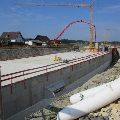 Baustelle B 31 Immenstaad – Friedrichshafen/Waggershausen