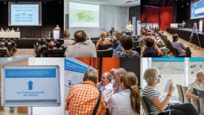 Impressionen von der Themenwerkstatt in der Mercatorhalle in Duisburg
