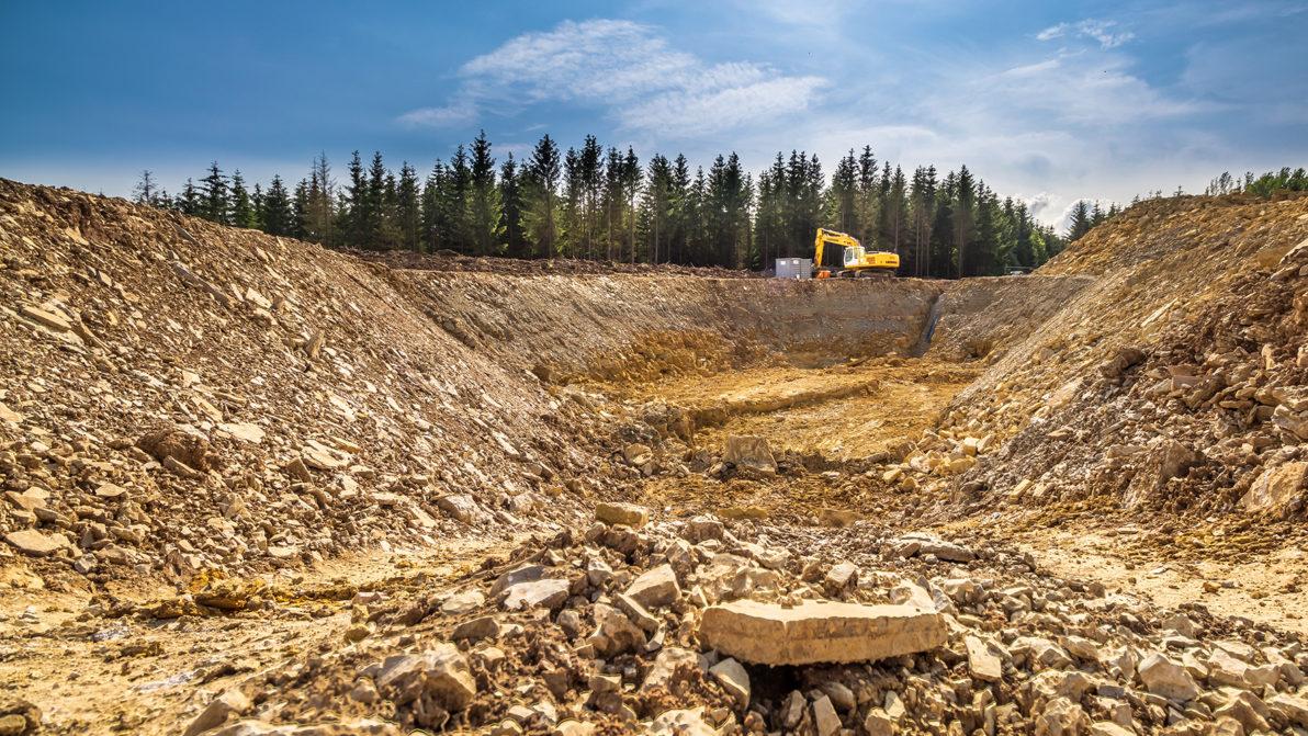 Umverlegung von Trinkwasserleitungen zwischen Kallmerode und Birkungen