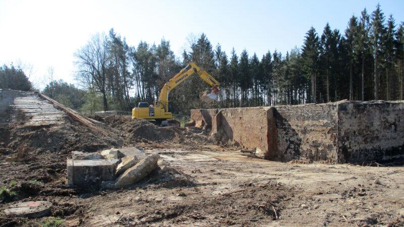 A 49: Bodensanierung im WASAG-Gelände
