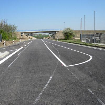 Blick in Richtung Brücke Schmoler Weg
