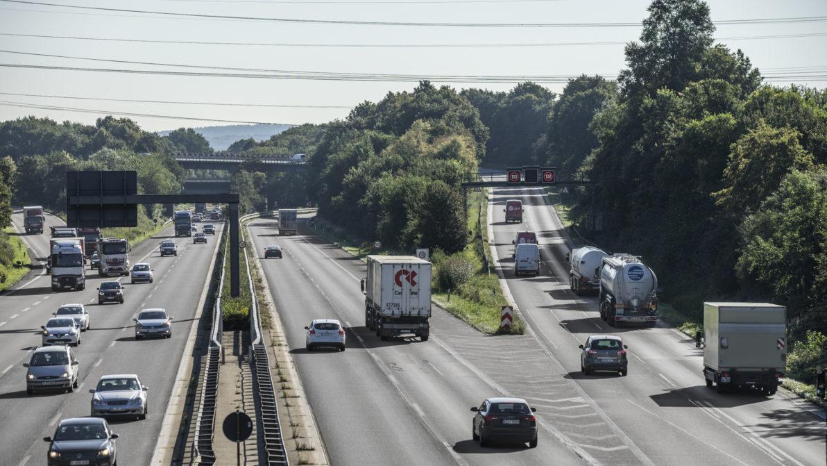 Das Autobahndreieck Heumar