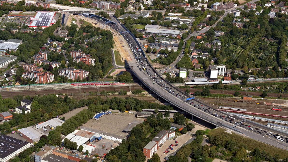Luftbildaufnahme A 7