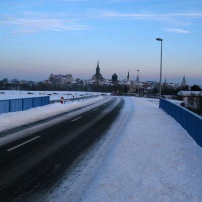 Neue Brücke Schmoler Weg über die B 6n