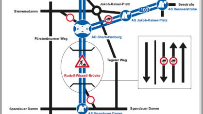Infografik zur veränderten Verkehrsführung