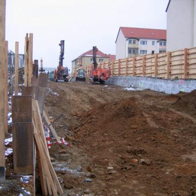 Lärmschutzwand für die Anwohner Daimlerstraße
