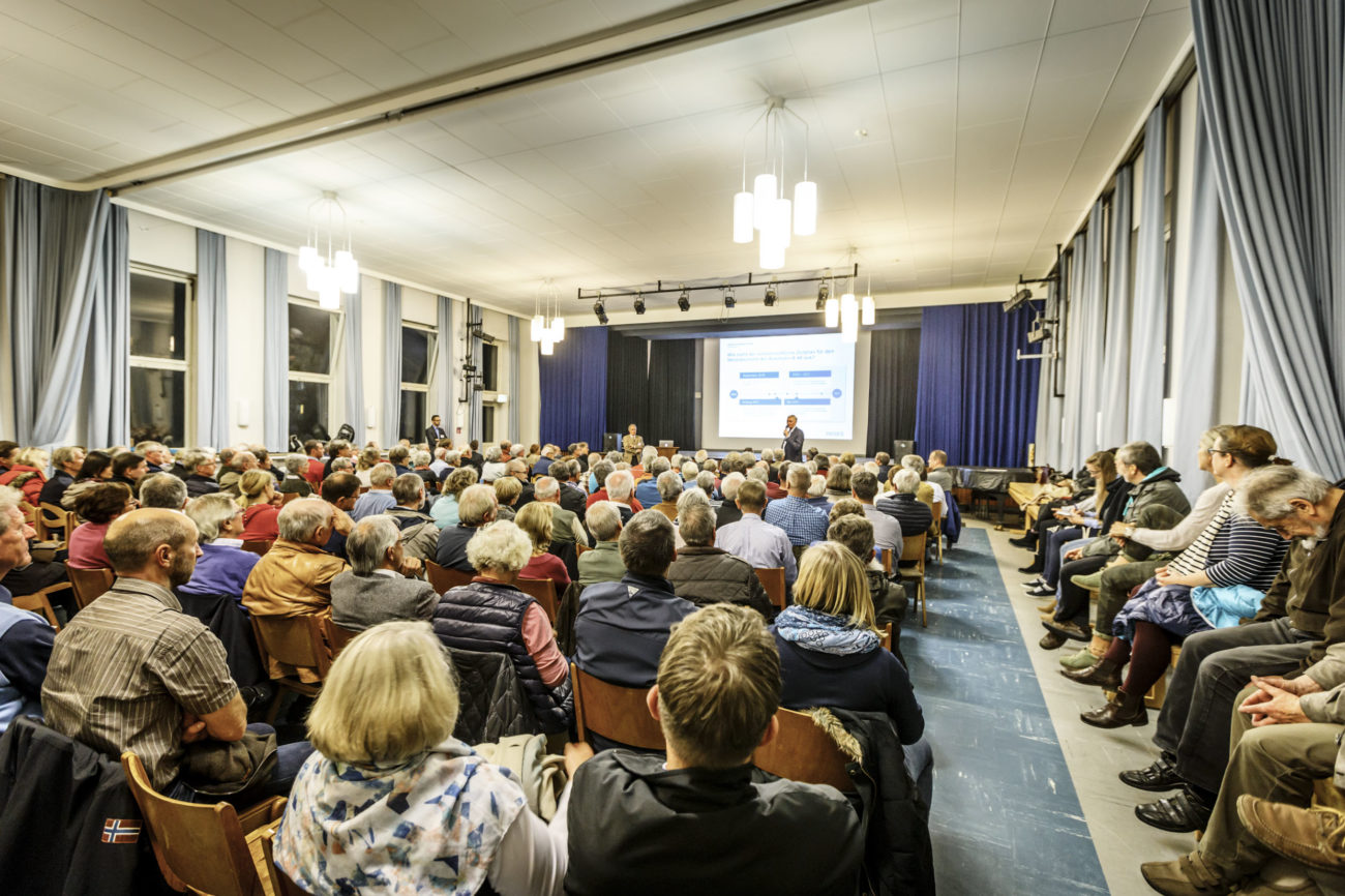 Bürgerinformationsveranstaltung im Oktober 2016