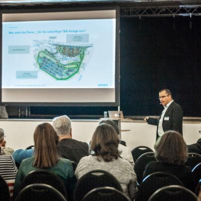 Bürgerinformationsveranstaltung zum Ausbau der Rastanlage Lichtendorf Süd