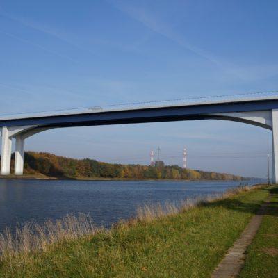 Visualisierung der neuen Rader Hochbrücke