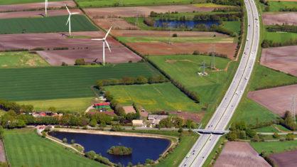 Autobahn A 7 in Schleswig-Holstein