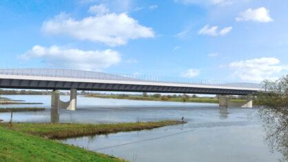 Visualisierung Elbebrücke Wittenberge A 14