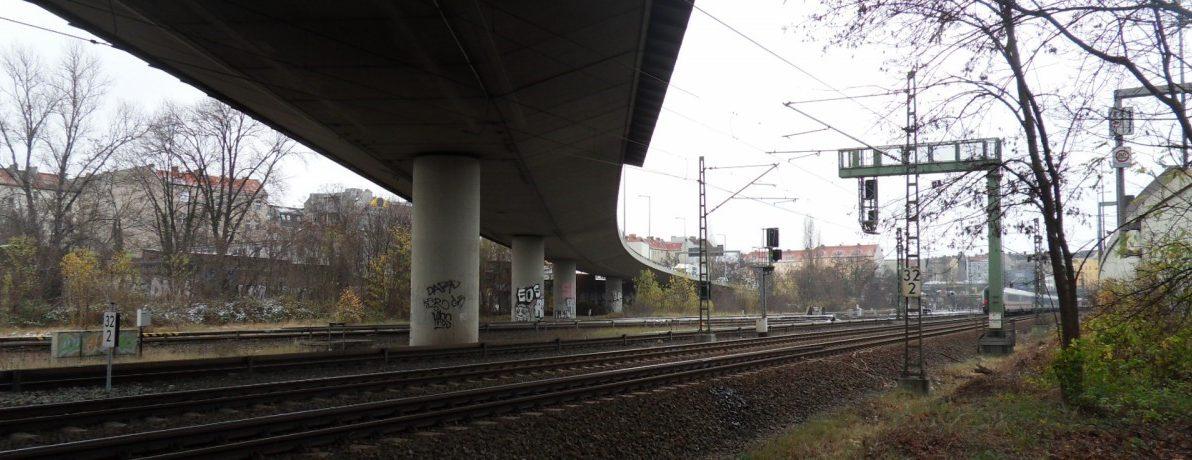 Aufnahme der Westendbrücke