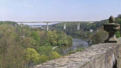 Visualisierung der Lahntalbrücke in Limburg