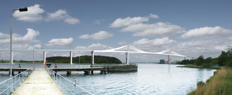 Visualisierung Peenestrom-Brücke