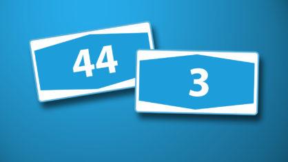 Autobahnen A 44 und A 3