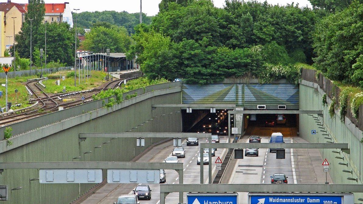 Bestandsbild der Autobahn A 111