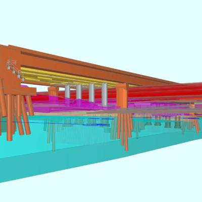 Visualisierung Schwelmetalbrücke BIM