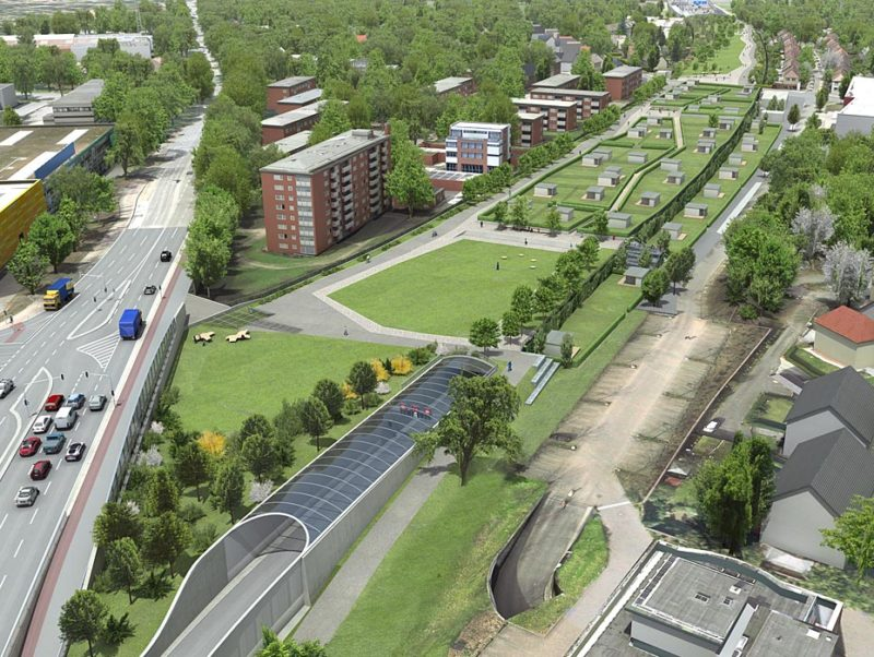 Animation Stadtentwicklung Stellingen