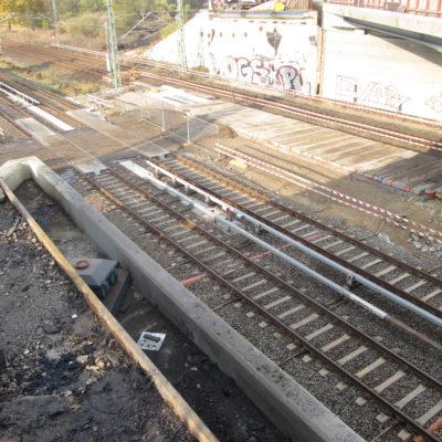 A 114, Außenringbrücke: Der Abbruch ist geschafft