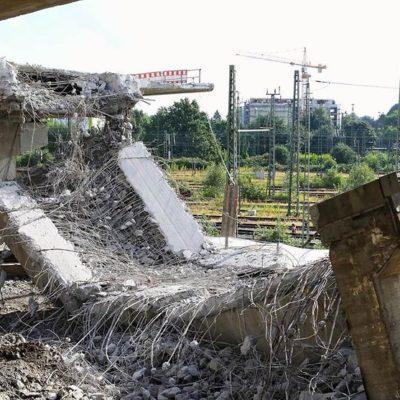 Abbrucharbeiten (Stand 26. September 2014)