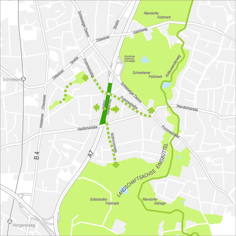 Karte Deckelpark Hamburg