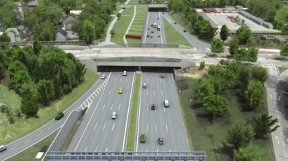 Visualisierung Tunnel Altona