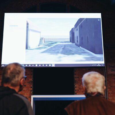 Themenwerkstatt zum Umbau des AD Funkturm / Tag 1 / interaktives 3D-Modell