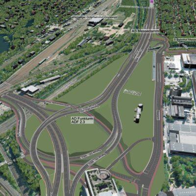 Umbau des AD Funkturm, Bilder aus dem interaktiven 3D-Modell