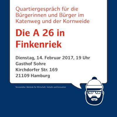 Einladung zum Informationsabend A 26 Hafenpassage Hamburg am 14.02.2017
