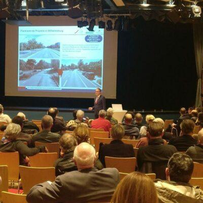 Staatsrat Rieckhof präsentiert die Ergebnisse der Behörde, wie es nach dem BürgerInnengutachten weitergehen soll