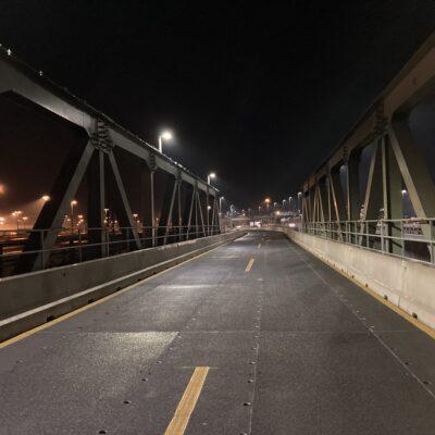 Die Behelfbrücke der K 30 Maßnahmen