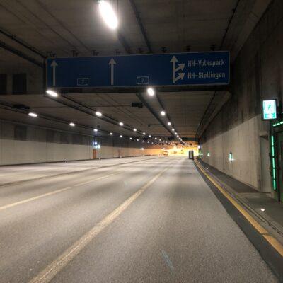 Der Tunnel Stellingen