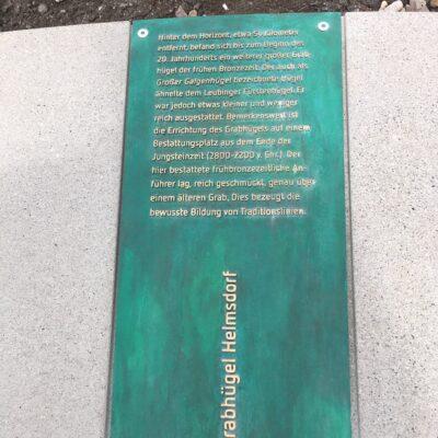 Leubinger Fürstenhügel, Sommer 2020