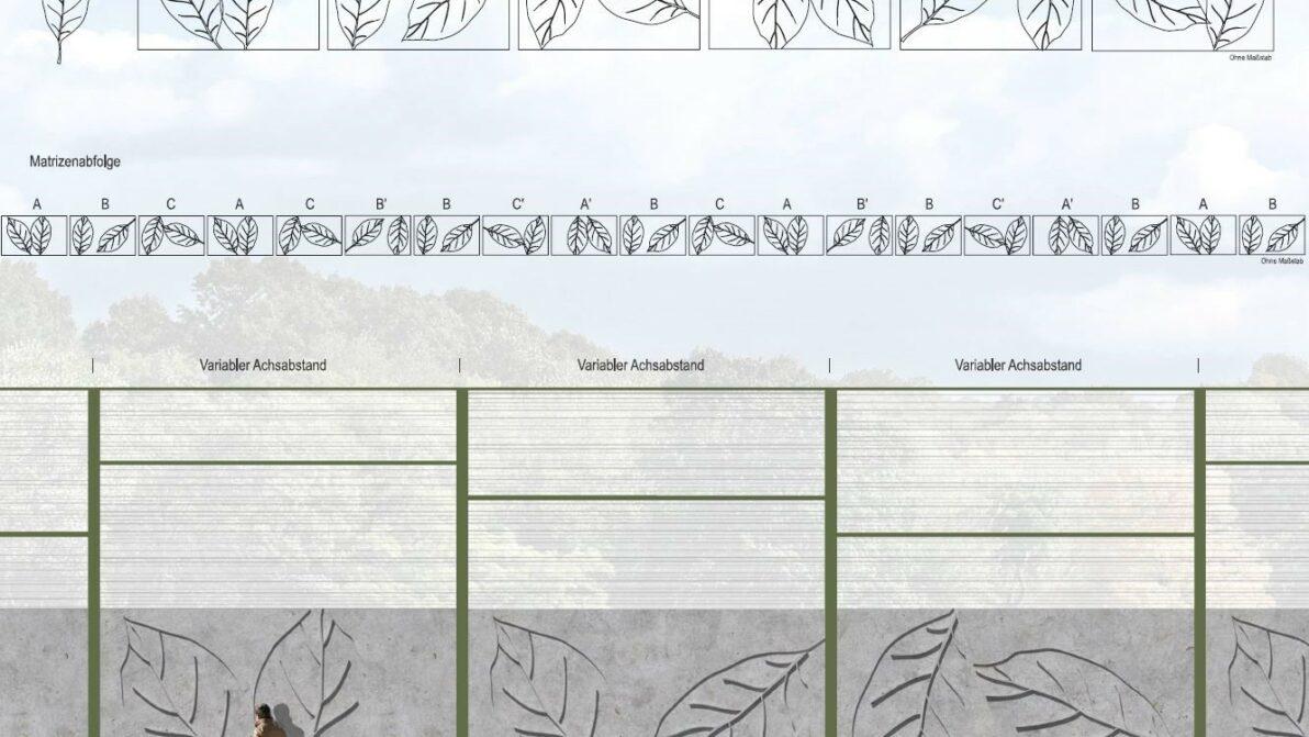 Visualisierung der Lärmschutzwände in Schwerte - Anwohnerseite