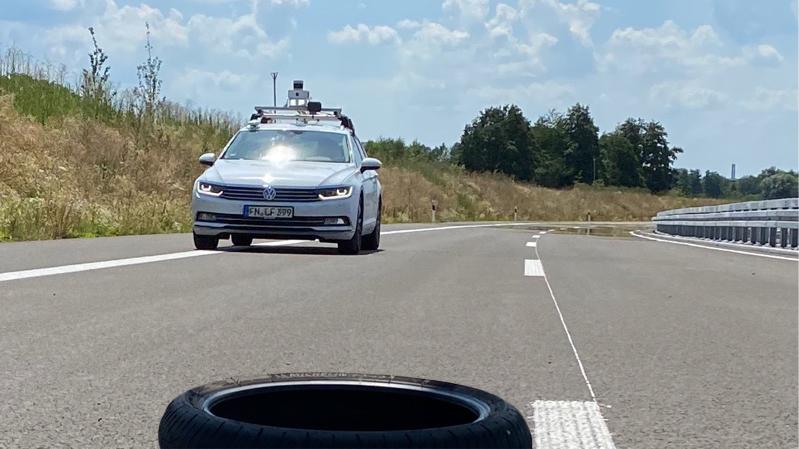 Test autonomes Fahren B 31