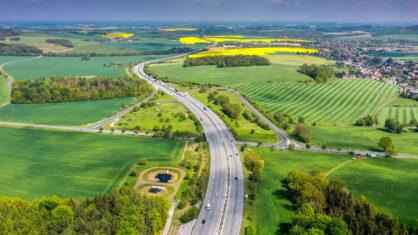 Die A 4 in Sachsen