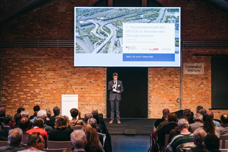 Berlin F03: 1. Themenwerkstatt zum Umbau des Autobahndreiecks Funkturm