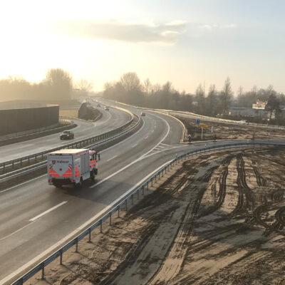 Wilhelmsburger Reichsstraße, Anschlussstelle Kornweide