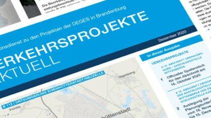 Informationsdienst VERKEHRSPROJEKTE AKTUELL