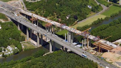 A 3: Rückbau der Lahntalbrücke in Limburg an der Lahn